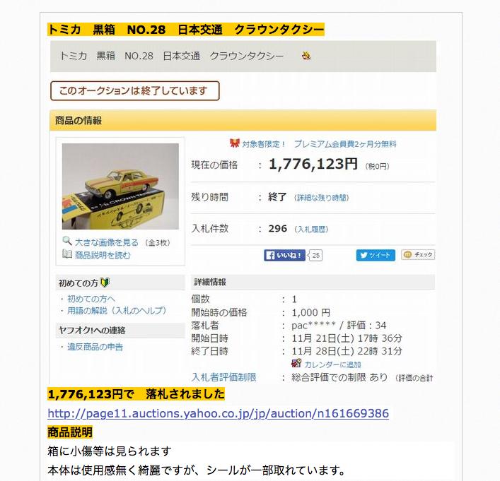 トミカ180万円