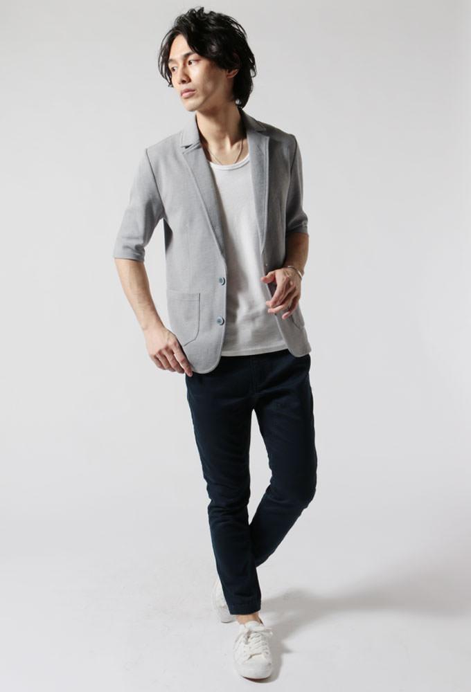 春のジャケットスタイル