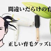 【抜け毛対策】ブラシ、シャンプー、ドライヤー、育毛剤フォリックスの正しい使い方!