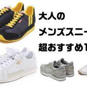 文句のつけようがない!プロがおすすめ大人のスニーカー10選!